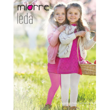 Miorre Leda OEM Wholesale Kids Girl Cotton Fabric Thick Winter Tights Pantyhose Multi Color