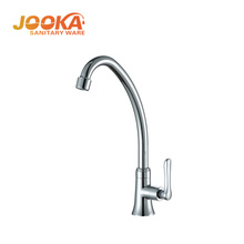deck mounted single lever handle cold water kitchen taps