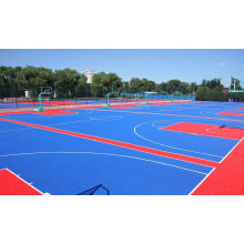 2017 New Product with High Quality PP and PVC Interlock Floor for Indoor/Outdoor Sports Ground