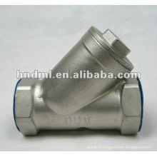 "Filtre à filetage interne en acier inoxydable de type Y avec DN 6mm, filetage 1/4 """