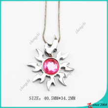Розовый ожерелье солнце Даймонд (Пн)