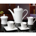 NIEUW BONE CHINA EMBOSSED TEA SET