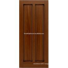 2- panel mahogany hardwood door design