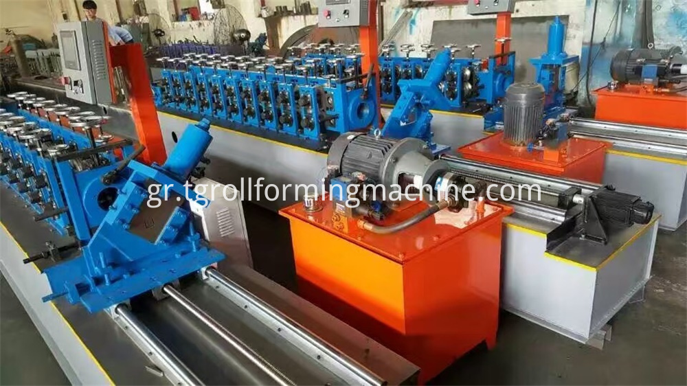 Main Channel Roll Forming Machine