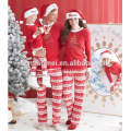 100% cotton night wear christmas blank pajamas wholesale christmas pajamas