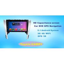 Système Android Car DVD GPS pour Toyota Camry Écran tactile de 10,1 pouces avec Bluetooth / TV / MP4