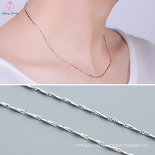 New Arrival Fish Shaped Melon Seeds 925 Pure Silver Chain for Girl