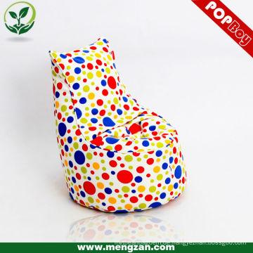 Kid's einzigartiger Baumwoll-Beanbag Mini-Sofa-Stuhl, Baumwollstoff, Bohnenbeutel