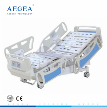 AG-BY008 with central-controlled braking system luxurious medical healthcare patient hospital icu bed