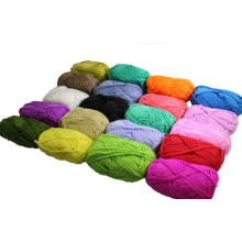 100% coton à la mode fil à tricoter à la main