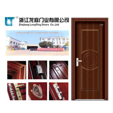 Puerta de acero interior de madera (LTG-118)