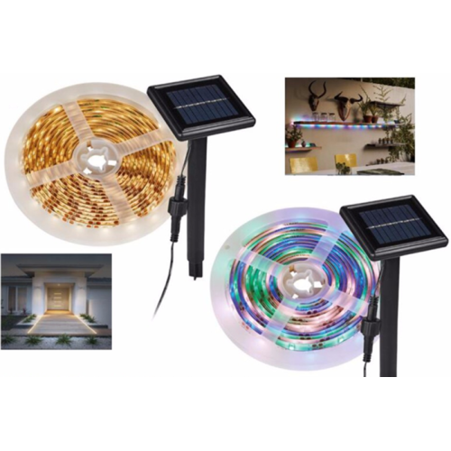 Jardín Solar String Lights Walkway Outdoor