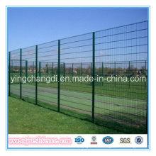 Cerca revestida de la valla de la cerca / 35.7cm76.2m m de la cerca del PVC Anti-Climb (fábrica)