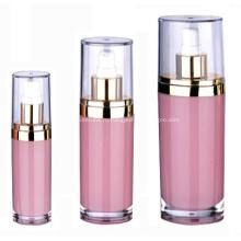 15 мл 30 мл 60 мл 120 мл красочные овальные акриловые косметические контейнеры и упаковка