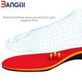 Panjang Ortopedik Insoles Orthotic Foot Arch menyokong
