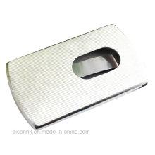 Leder Push-Typ Visitenkartenhalter (BS-L-003)