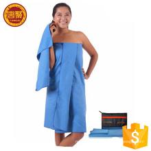 Toalha de banho promocional de tecido pesado personalizado