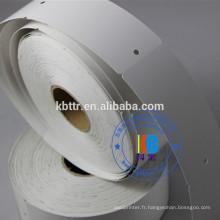 Code à barres Imprimante à transfert thermique vêtement en carton accrocher le papier à code à barres