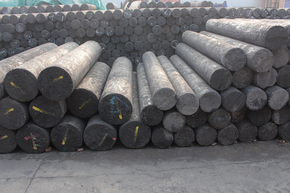 Anti oxidation graphite electrode