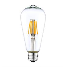 Couvercle en verre LED en forme d'ampoule