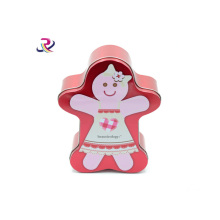 Karton Shape Candy Packaging Tin Box