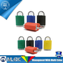 MOK lock W202/202L master lock hardened steel shackle rotating bearing with lock