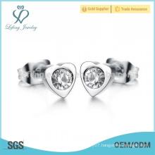 Fashionable wedding crystal stud earrings,women earring