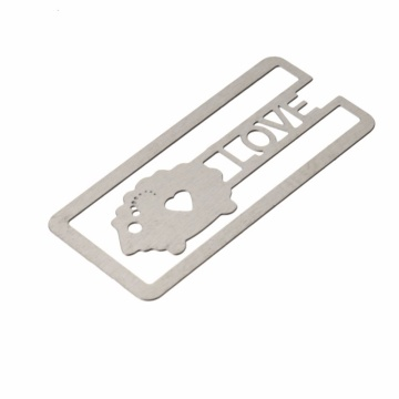 Partihandel Custom Printing Metal Bookmark