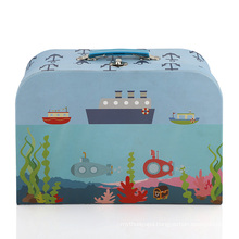 Wholesale custom cardboard packaging Children's products paper suitcase gift box