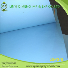 Glossy 2.3mm Blue Color Polyester Sperrholz von Linyi Qimeng