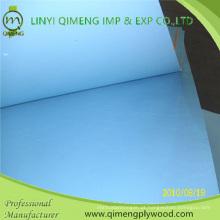 Glossy 2.3mm Azul Cor Poliéster Contraplacado De Linyi Qimeng