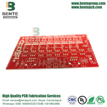 PCB Prototype Red ink