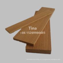 Margen de madera de teca de ingeniería china
