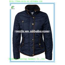 European plus size new design black women down jacket