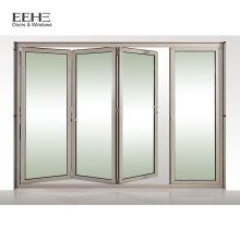 Weiße Aluminium-Bifold-Patio-französische Türen