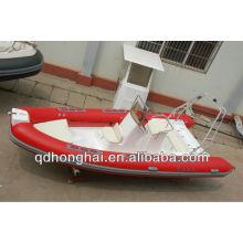 RIB580 yacht fiberglass hull inflatable tube with CE