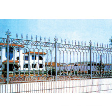 Cast iron fence/Cast decorative residential ornamental iron fence