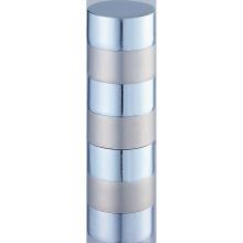 Heißer Verkauf sieben Abschnitt Metall Vorhang Rod Kreuzblume