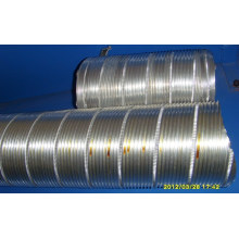 Máquina de tubo de alumínio flexível