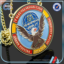 metal medallion
