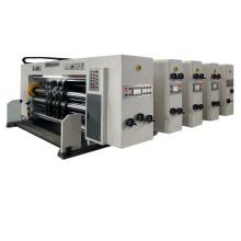 slotting die-cutting corrugated box manufacturing printing machine
