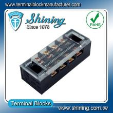 TB-1504 Tipo de barrera 4 polos Conector de bloque de terminales Tyco de 15 amperios
