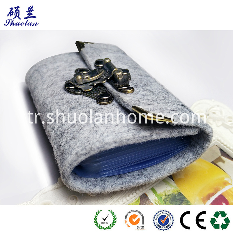 Customized Size Felt Card Bag