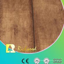 Plancher stratifié de texture de Woodgrain de Householf 12.3mm E1 HDF AC4