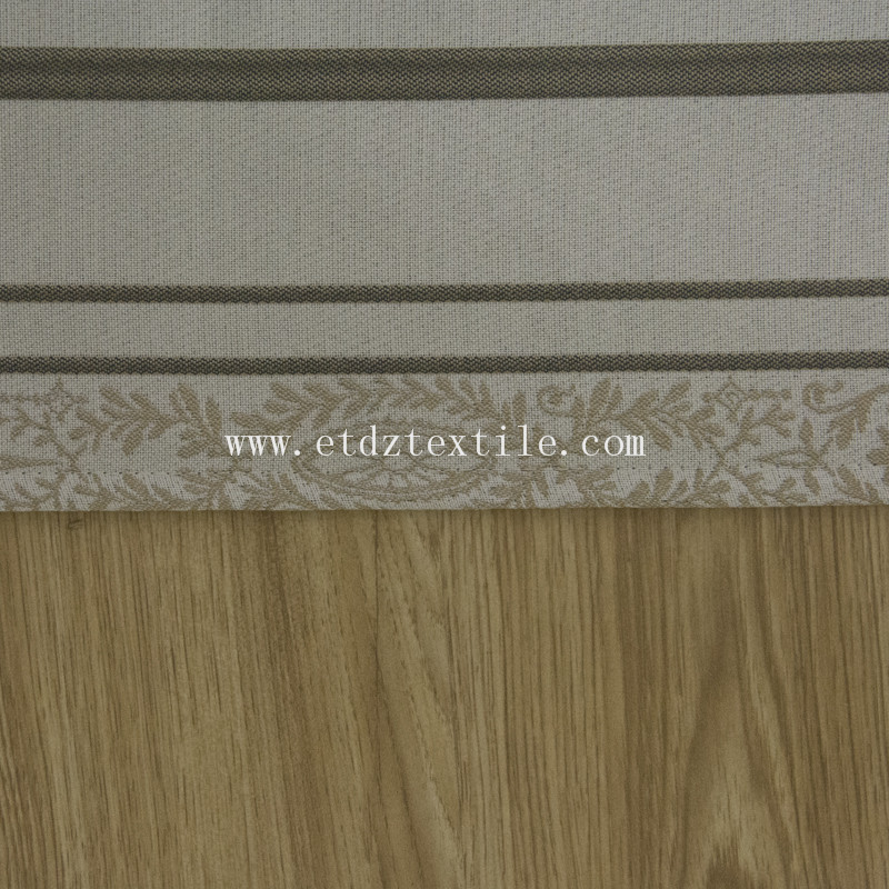 Strip Flower Jacquard curtain FR3060