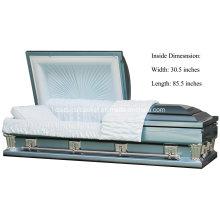 Cercueil de Frank bleu Oversize 31 pouces