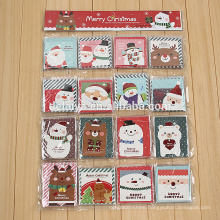 Merry Christmas Holidays Greeting Cards Set