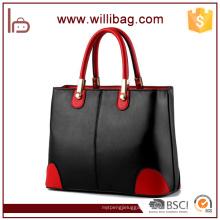 2016 Graceful Lady Leather Handbag High Quality Custom Tote Bag
