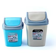 Plastik-Flip-on Mode Müllbehälter