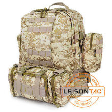 Tactical Backpack with High Density Nylon Fabric